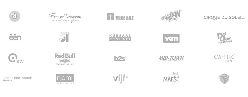 Een greep uit onze klantenlijst